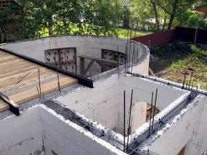 Дом из несъемной опалубки: технология строительства