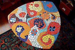 Мозаика из битой плитки: мастер-класс