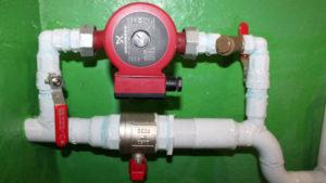 Как установить циркуляционный насос отопления