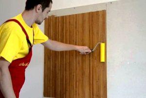 Как правильно клеить бамбуковые обои своими руками