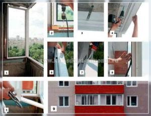 Монтаж алюминиевого балкона своими руками: детальная инструкция для самостоятельной установки