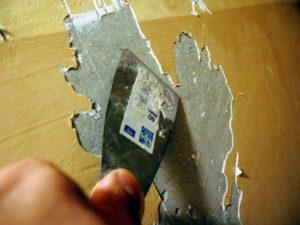 Как очистить стены от краски своими руками