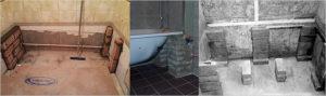 Установка стальной ванны: советы и рекомендации