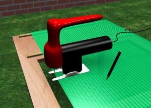 Резка поликарбоната: пошаговая инструкция