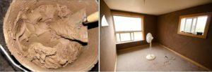Штукатурка глиной пошаговая инструкция