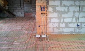 Жидкостно-электрический теплый пол своими руками. Комбинированная система отопления X-L PIPE