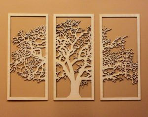 Лазерная резка фанеры и дерева своими руками