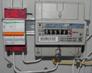 Правила опломбирования электрических счетчиков