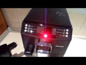Кофемашина не закачивает воду и моргает красная лампа