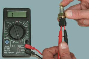 Как проверить работоспособность выключателя света?