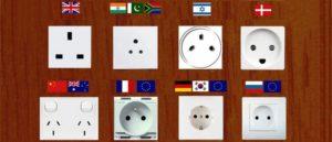 Какие розетки за границей — обзор 14 типов из разных стран мира
