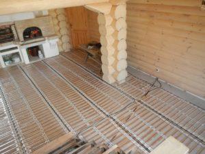 Теплые полы в деревянном доме: особенности монтажа