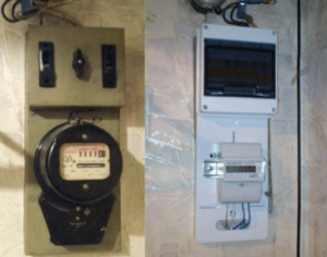 Почему электросчетчик в гараже мотает без нагрузки?