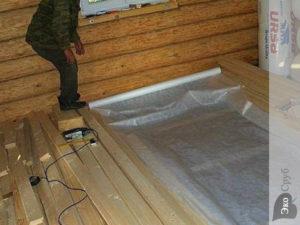 Гидроизоляция пола в бане: пошаговая инструкция