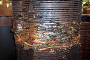 Почему обгорели провода на трансформаторе ТМО?