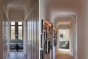 Как управлять освещением в длинном коридоре с двух мест