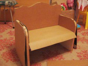 Как сделать детский диван своими руками