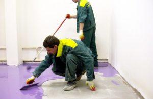 Установка наливного полимерного пола своими руками. Инструкция по проведению работ