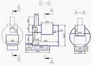 Самодельная печь из трубы: инструкция по изготовлению