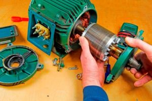 Почему не запускается и гудит электродвигатель насоса после ремонта?