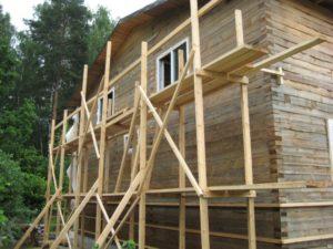 Как сделать строительные леса своими руками.