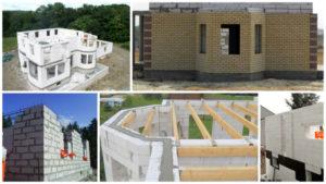 Строим дом из пеноблоков своими руками. Инструкция, технология, проектирование дома из пеноблоков