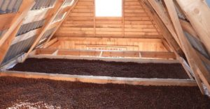 Как утеплить крышу керамзитом