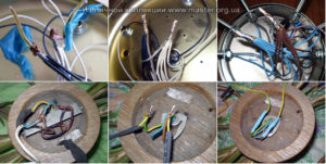 Можно ли заменить провода в люстре?