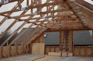Крыша частного дома своими руками