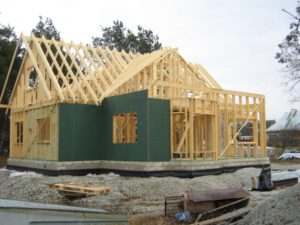 Строительство щитового дома своими руками