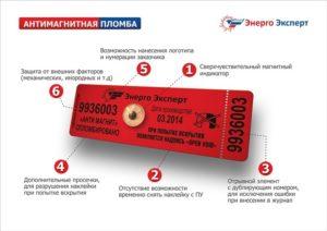 Что такое антимагнитная пломба на электросчетчик и как она работает?