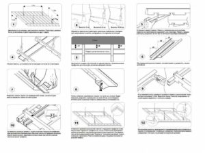 Как сделать реечный потолок своими руками: инструкция, советы по установке