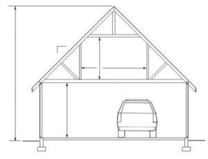 Строим гараж с мансардой своими руками