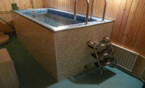 Бассейн для бани своими руками
