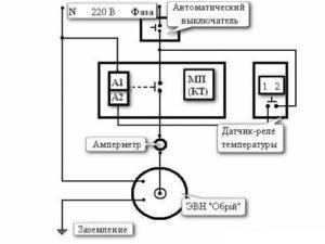 Схема подключения электродного котла на 220 и 380 Вольт