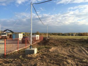 Как организовать временное электроснабжение на стройке?