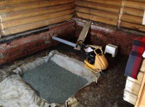 Как сделать фундамент под печь в баню своими руками