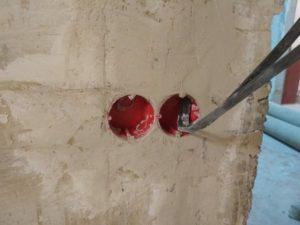 Монтаж подрозетника в стену своими руками