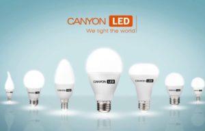 Обзор светодиодных лампочек от компании Canyon