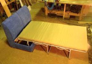Раскладной диван своими руками