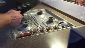 Ремонтируем варочную панель — неисправности различных моделей