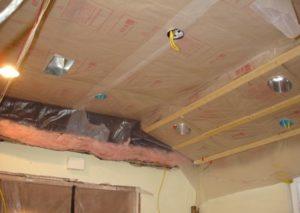 Пароизоляция потолка в доме своими руками