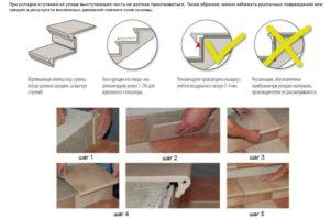 Облицовка плиткой ступеней: пошаговая инструкция