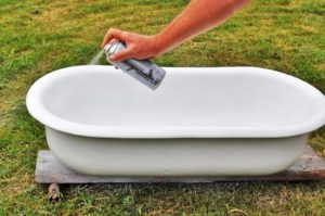 Как покрасить ванну эмалью своими руками