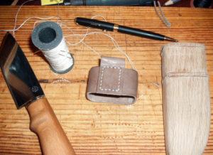 Как сделать ножны для ножа своими руками. Ножны из кожи, из дерева для ножа своими руками