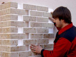 Как отделать стены клинкерной плиткой своими руками
