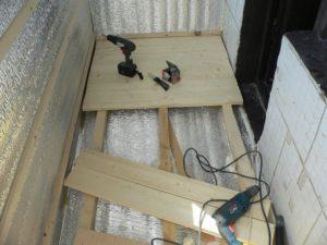 Пол на балконе своими руками: пошаговая инструкция