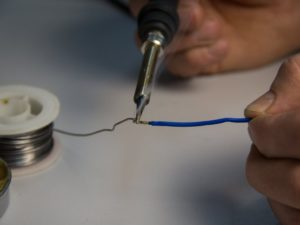 Технология правильного лужения проводов