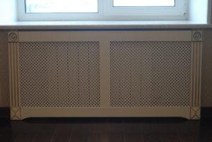 Экраны для радиаторов: применение, виды, установка