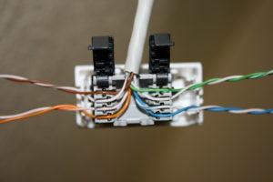 Как правильно подключить интернет-розетку?